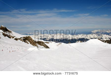 Alpine Ski Slope