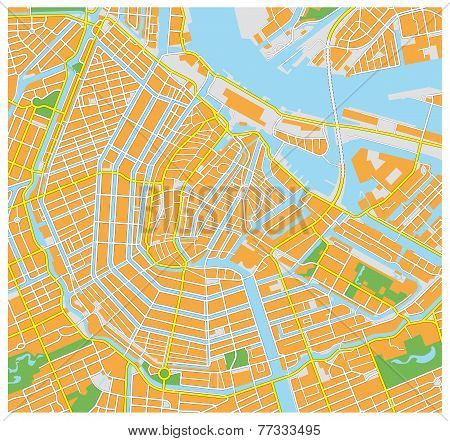 Amsterdam City Map