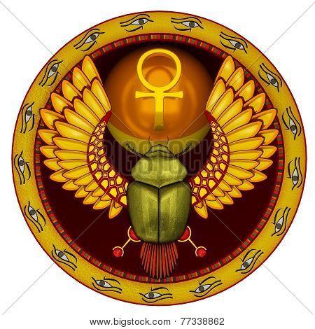 God The Sacred Solar Bug