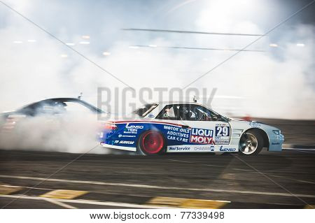 Thailand Drift Series 2014 In Pattaya