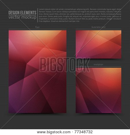 Design Vector Elements Template