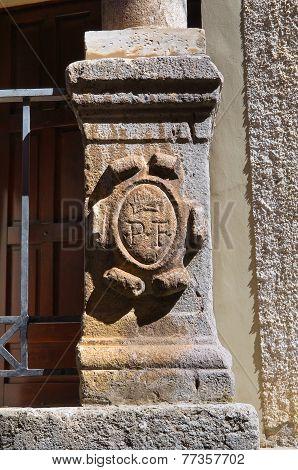Church of Assunta. Satriano di Lucania. Italy.