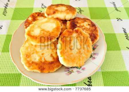 Fried Cheese Fritters
