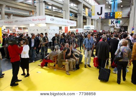 International Book Fair (Salone Internazionale del Libro), Turin, Italy