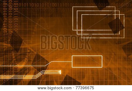 System Development Platform and Reporting Tool Utility Art