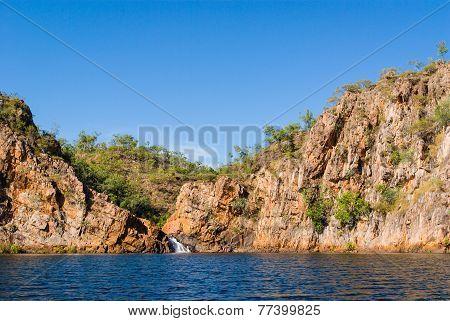 Edith Falls waterfall, Australia