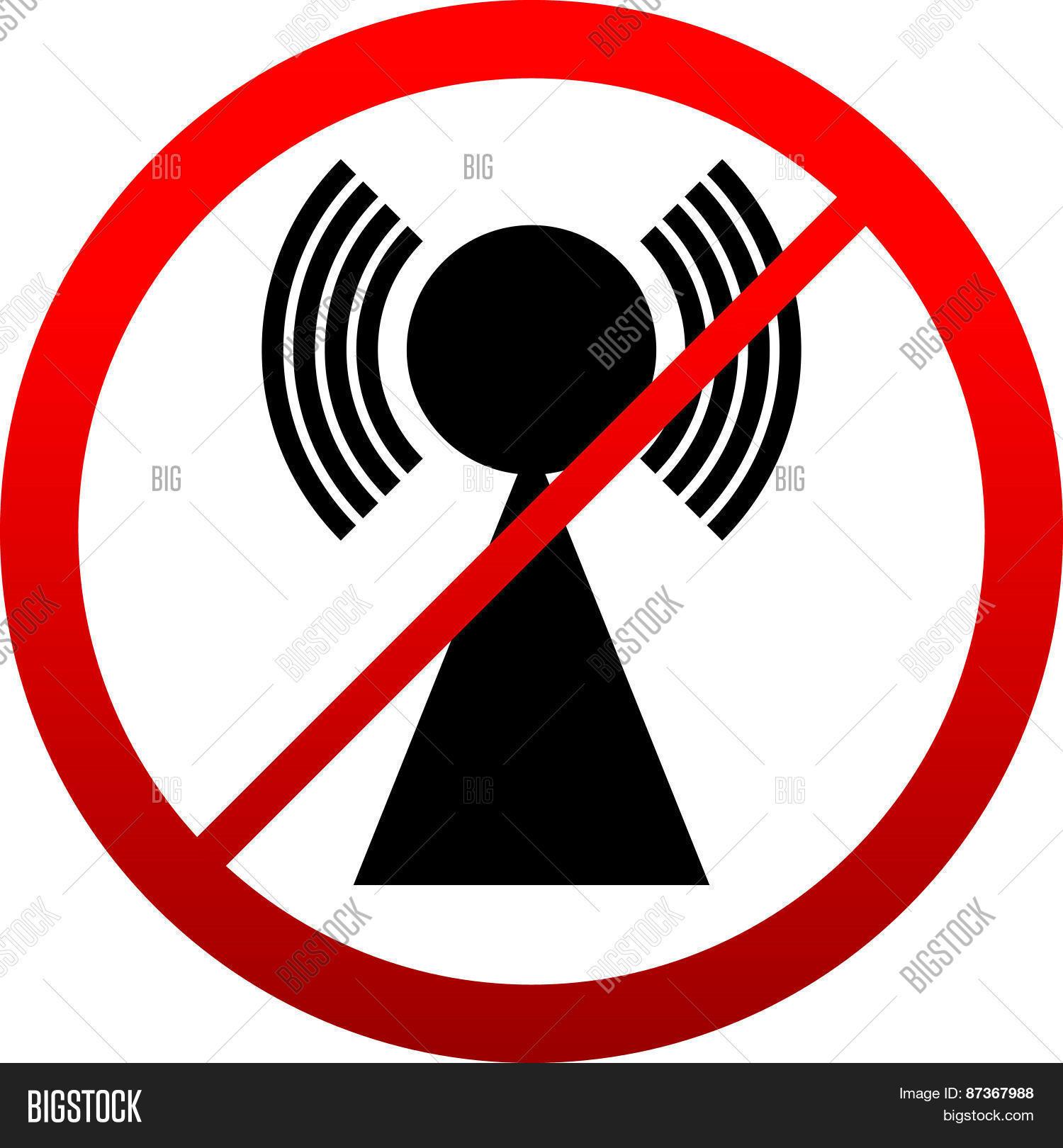 No signal sign bad antenna no vector photo bigstock bad antenna no internet connection concepts jamming interference icon buycottarizona Images