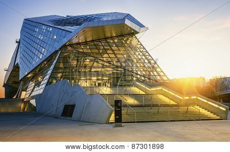 Museum At Sunset