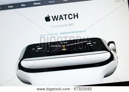 Apple Watch - Coming Early 2015