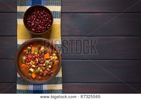 Vegetarian Chili Dish