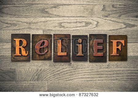 Relief Wooden Letterpress Theme