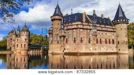 fairy tale castle De Haar, Holland