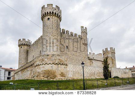 Sasamon Olmillos In The Province Of Burgos
