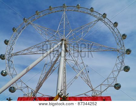 The Melbournestar observation wheel