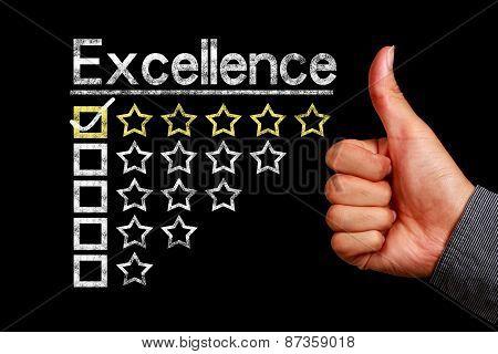 Excellence Concept