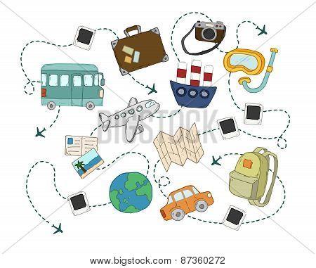 Travel set.