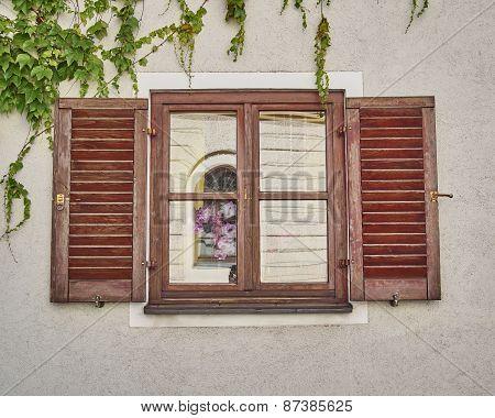 vintage home window Munchen Germany