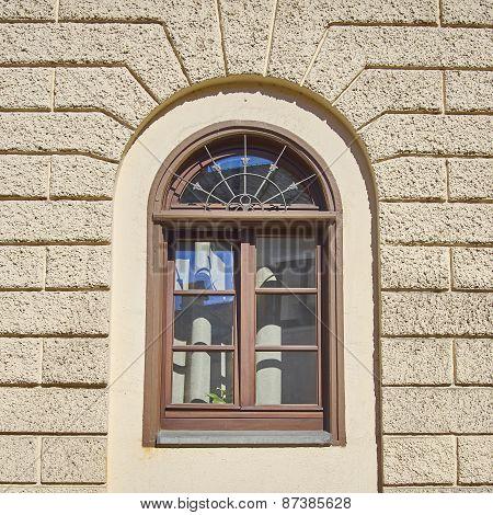 vintage home window, Munchen Germany