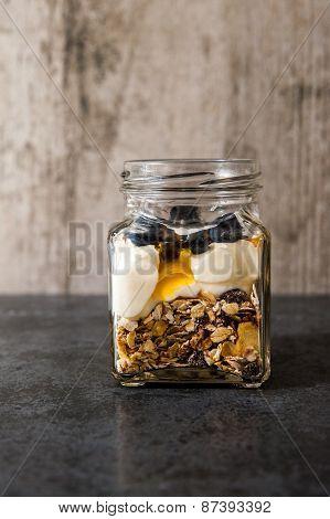 Museli Jar