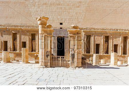 Queen Hatshepsut's Temple, Luxor (thebes) In Egypt.