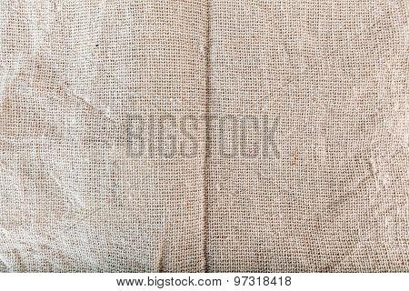 Texture of Sackcloth, sacking, bagging