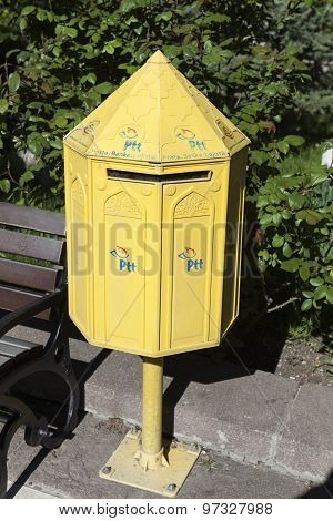 ISTANBUL, TURKEY - MAY 05, 2015: Photo of Mailbox.