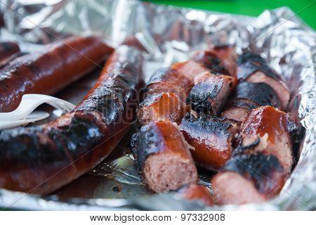 Hot Dogs In Foil