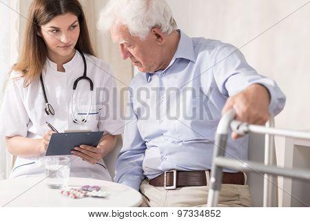 Practitioner Prescribing Medicament
