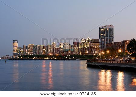 Jersey city downtown