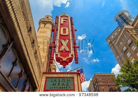 Fox Theatre August 4, 2014 In Atlanta