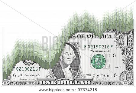 Dollar Growth Arrows