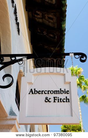 Abercrombie & Fitch Store And Sign