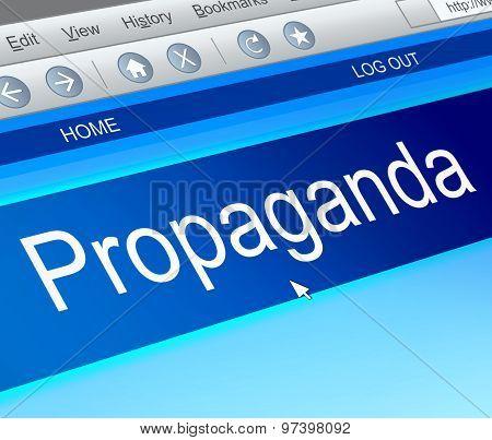 Propaganda Concept.