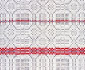 background linen fabric with a pattern of weaving grey colour poster