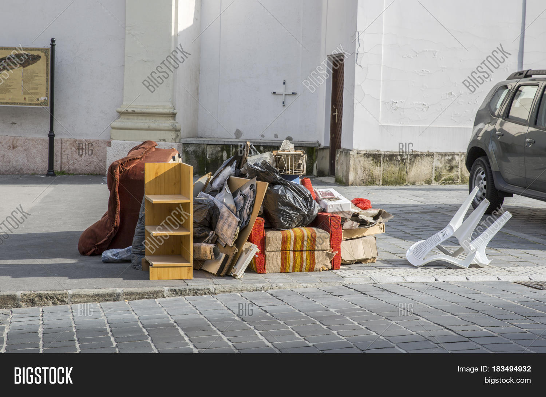 Bulky Waste On Street Image & Photo (Free Trial) | Bigstock