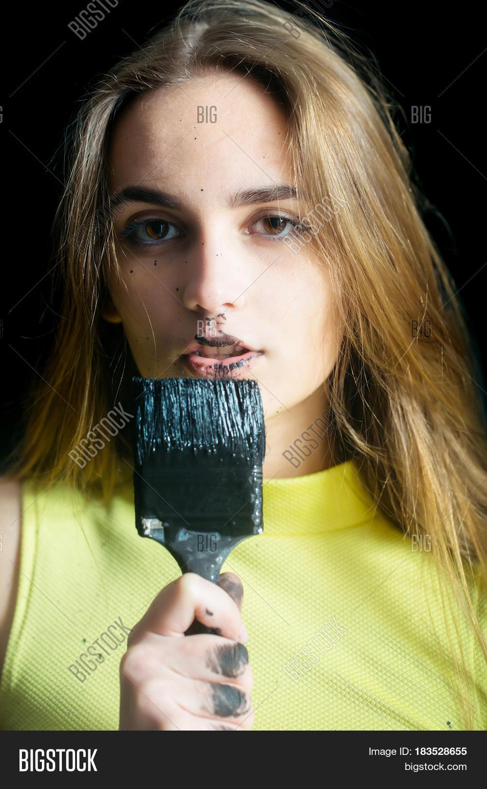 Pretty Girl Builder, Image & Photo (Free Trial) | Bigstock