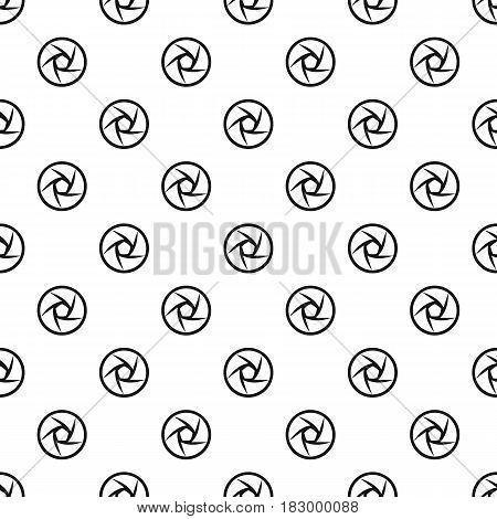 Video objective pattern seamless in simple style vector illustration