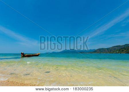 Beautiful Seascape On Koh Chang