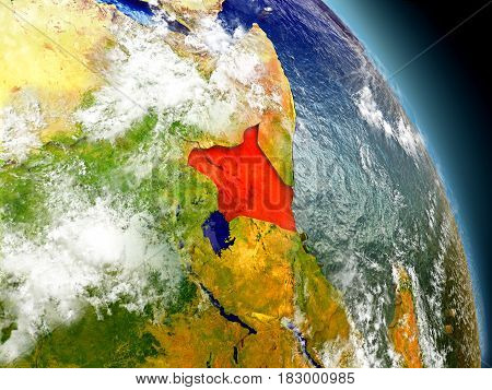 Kenya From Space