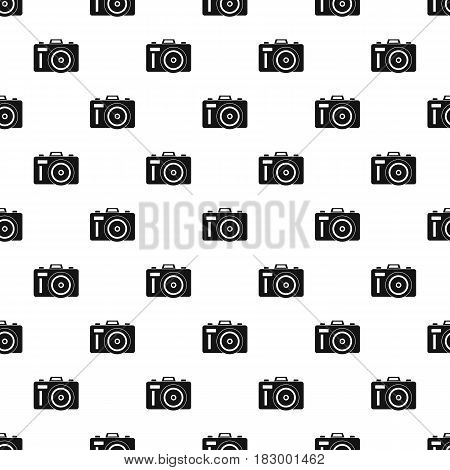 Photocamera pattern seamless in simple style vector illustration