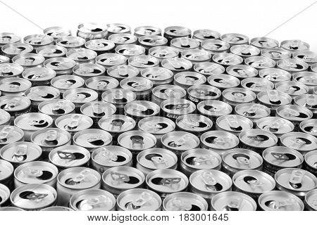 Empty Aluminum Cans