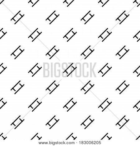 Tonfa pattern seamless in simple style vector illustration