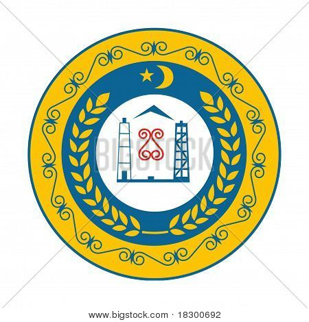Chechnya Coat Of Arms