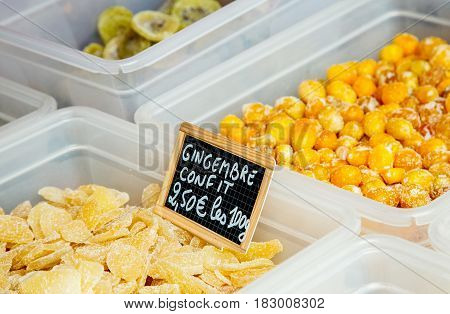 Candied Ginger (