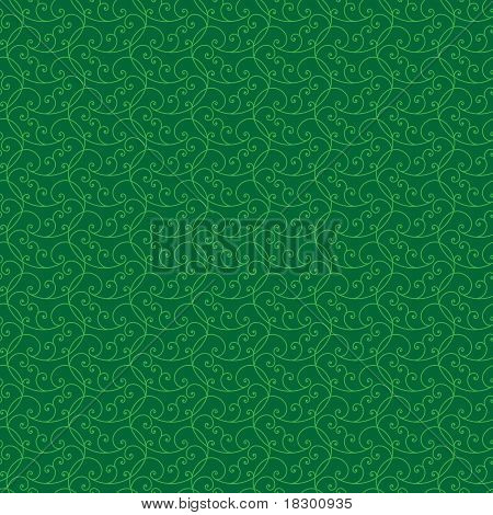 Seamless Textured Abstract Background In Shades Of Green