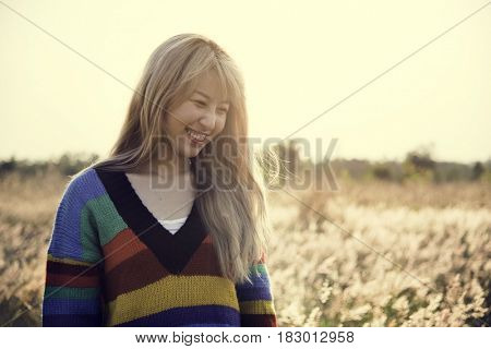 Blonde Women Leisure in Maedow