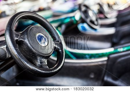 Entertaining Automobiles In Luna Park