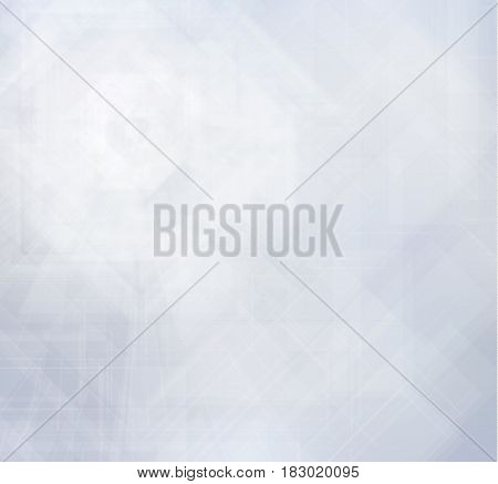 Neutral blue geometric vector background can be used for presentations. EPS10.