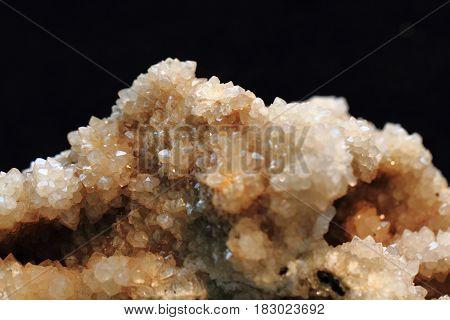 Citrine Mineral Texture