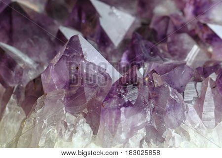 Amethyst Violet Background